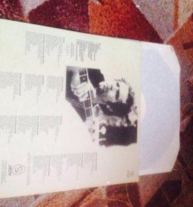 Коллекционная виниловая пластинка 1975 года