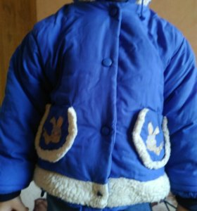 Куртка мальчику 3-4 г.