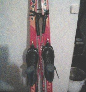 Лыжи деревянные (чемпион)