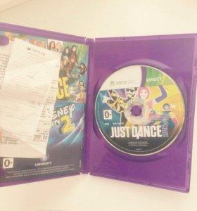 Диск ,,Just Dance '' для XBOX360