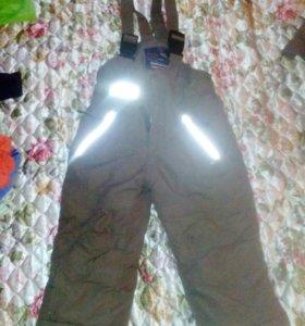 Теплые штаны на мальчика