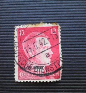 Марка Почтовая Германия 1942
