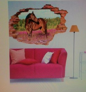 Наклейка-стикер Лошадь
