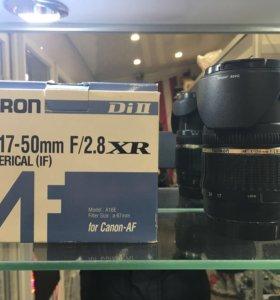 Обьевтив Tamron SP AF 17-50mm f/2.8 XR
