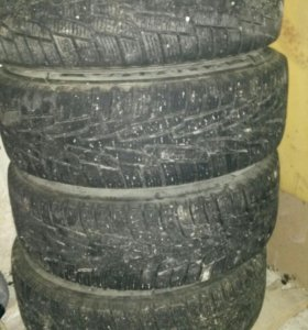 Комплект зимних колес R15 kumho