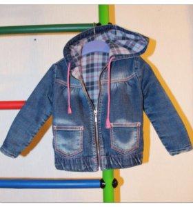 Куртка джинцовая