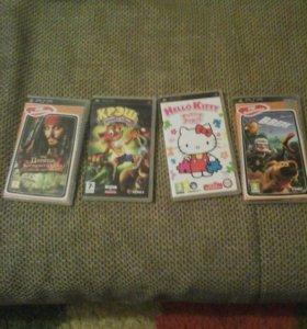 4 игры для PSP