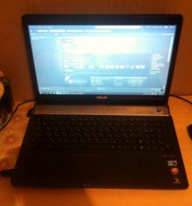 Ноутбук asus n61j i5