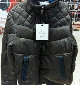 куртки зима moncler новые