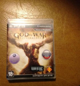 "Игра для PS3 ""God of war: восхождение"""