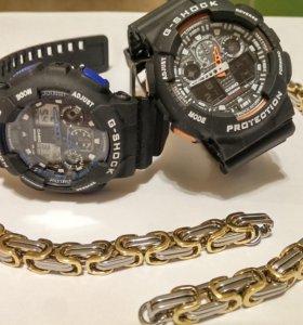 Часы + браслет