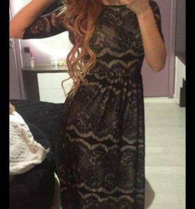 Гипюровое платье !