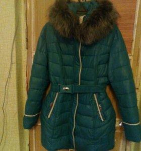 Куртка зимняя р. 54-56