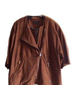 Замшевая куртка Massimo Dutti