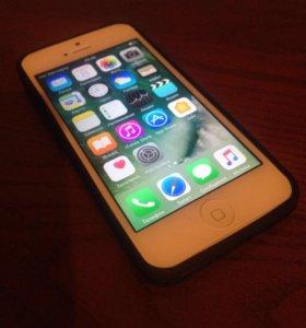 Айфон 5 белый 16 GB