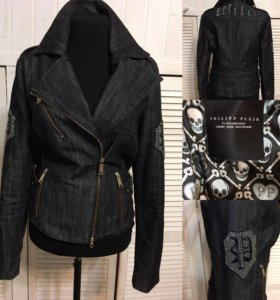 Джинсовка, куртка, косуха philipp plein