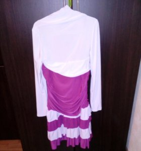 Платье праздничное с болеро