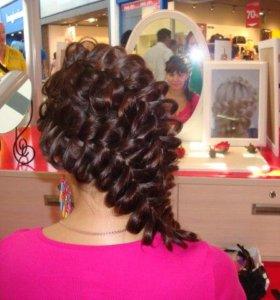 Красивые причёски из кос, цена любой - 300рублей!