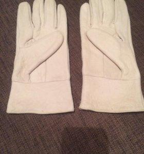Перчатки женские, кожа пропитка натуральная