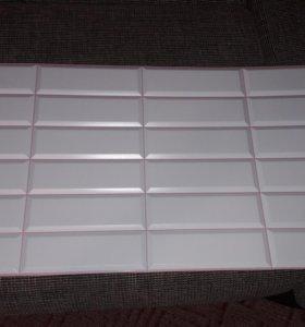 ПВХ плитка для ванной 15 штук новые