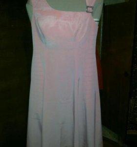 """Вечернее изящное платье """"в пол""""."""