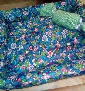 Лежачок с подушкой