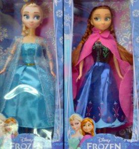 Кукла эльза и анна