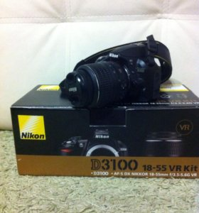 Nikon D3100 идеальное состояние