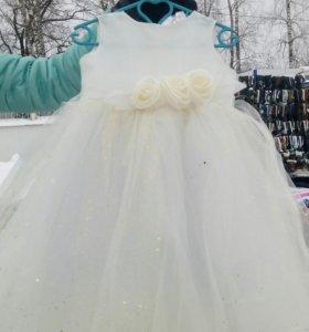 Платье новогоднее детское