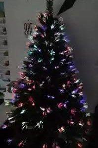 Ёлка новогодняя, самосветящаяся, 2 м