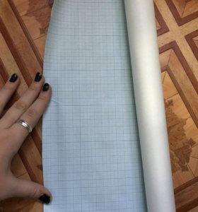 Рулон миллиметровой бумаги