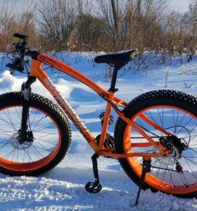 Велосипед фэтбайк,