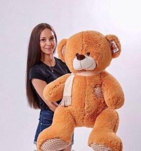 Медведь мягкий 1метр