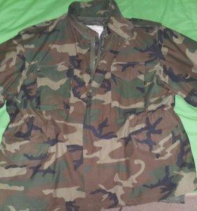 Куртка М-65 (оригинал alpha) с подстежкой