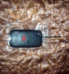 брелок сигнализации с выкидным ключём