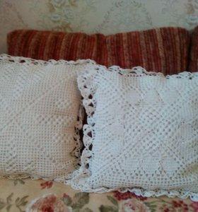 Декоративные чехлы на подушку ручной работы