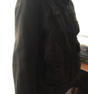 Куртка мужская кожаная новая