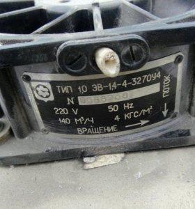 Вентилятор осевой 140 м3 1.0эв-1.4-4-3270у4