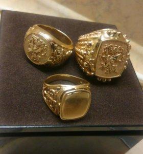 Печатка, золото 585 пробы