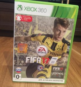 XboX 360 slim 250гб+2 геймпада+FIFA 17.