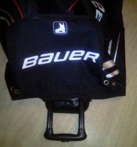 Хоккейная вратарская сумка