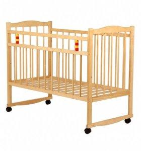 Кроватка детская б/у с матрасом