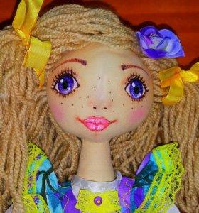 Кукла игровая ручной работы.