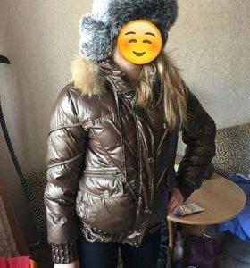Женский пуховик 44-46р