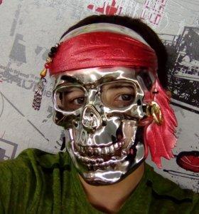 """Маска """"Скелет Пират"""""""