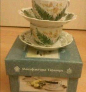 Чайный набор Чай вдвоём 2/4 (Мануфактура Гарднеръ