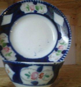 Пиала и тарелка