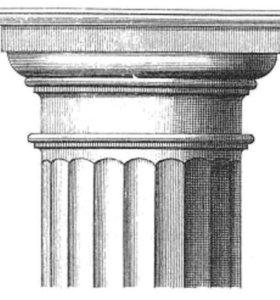 Греческие колонны классические