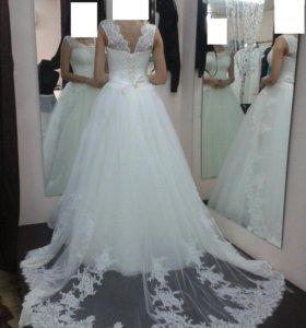Свадебное + вечернее платья