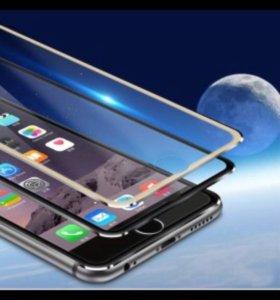 Стекло (на весь дисплей) 3D iPhone 6/6s/7
